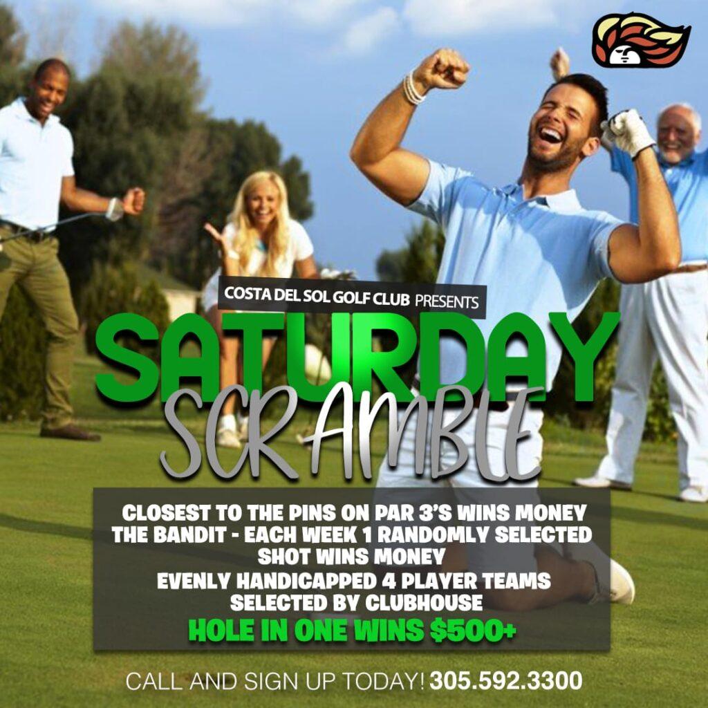 Saturday Scramble