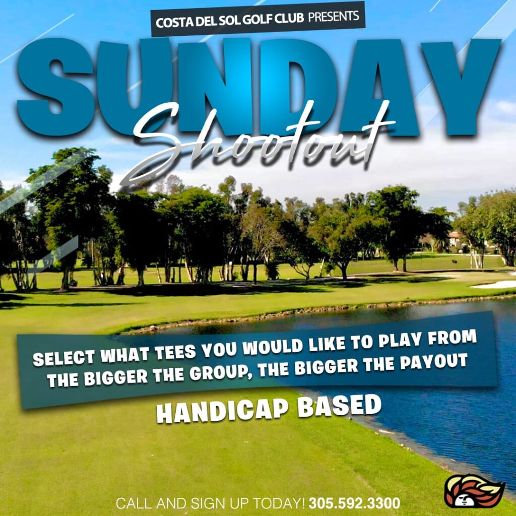 Sunday Shootout Golf Tournament